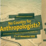 No country for anthropologists?